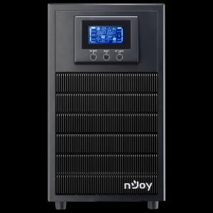 UPS 3 kVA nJoy Aten 3000L, On-line, baterie inclusa, monofazat