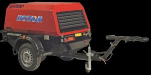 Motocompresor Rotair MDVN 53P, Perkins 50.0 cp, 5.2 mc/min., presiune 7 bar