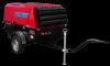 Motocompresor rotair. mdvn 72k, kubota 66.0 cp, 7.1 mc/min, presiune 7