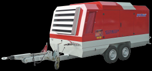 Motocompresor Rotair MDVS95P, 132 CP, 10 mc/min, presiune 12 bar
