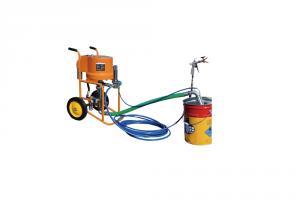 Pompa airless Bisonte PAZ 6C, sistem airless pneumatic cu piston, debit material 12 l/min, zugravit/vopsit