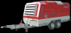 Motocompresor Rotair. MDVS170JCB , 160.8 CP, 17-12 mc/min, presiune 7-14 bar