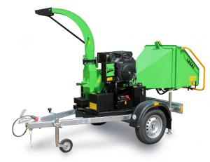 Masina Tocat Crengi Laski LS 100/27 CB, putere 18,6 kW, motor benzina, pornire electrica