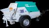Pompe beton booster 15r, remorcabila, motor lombardini, 24,5 kw, debit