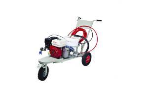 Pompa airless Bisonte PAZL-6800 pentru trasat marcaje, motorizare Honda, benzina, 5.5CP, debit 4.5 l/min