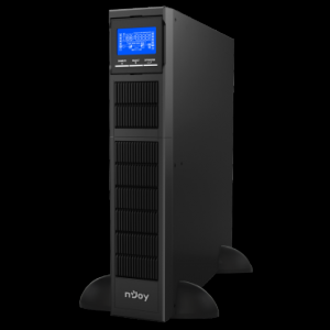 UPS 1.5 kVA nJoy Balder 1500 Dubla conversie/On-line Plaja larga de tensiuni acceptat cu cabinet de baterii intern, monofazat