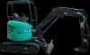 Mini - excavator 35n, putere motor 26.9 cp, adancime
