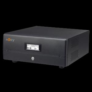 UPS 0,7 kVA nJoy Ares 700 Iesire sinusoidala pura Unitati centrale de incalzire Backup pe perioade lungi offline fara baterie monofazat