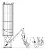 Silozulrile verticale - silmatic 55 , capacitate 55, greutate proprie