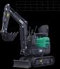 Mini - excavator 9vxe, tip motor yanmar, adancime