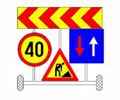 Indicatoare rutiere semnalizare lucrari
