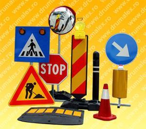 Semnalizare lucrari indicatoare rutiere