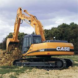 Excavator cu senile