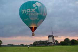 Zbor balonul aer cald