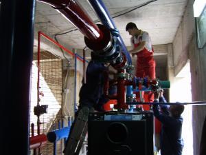 Centrale termice automatizate