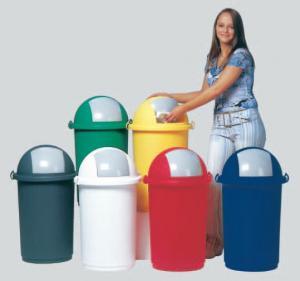 Cos plastic deseuri