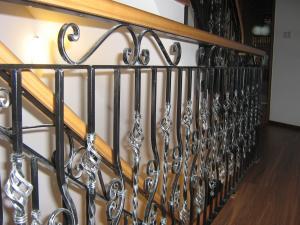 Balustrada scara fier forjat