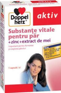 DoppelHerz aktiv Substante vitale pentru par x 30 capsule