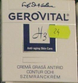 Ten gras crema antirid