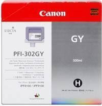 Canon PFI-302GY cartus cerneala gri 330ml