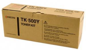 Cartus toner TK-500Y galben Kyocera 8000 pagini