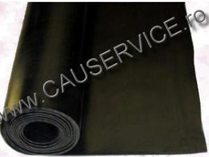 Covor cauciuc insertie textila