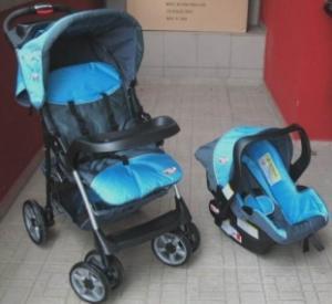 Sistem 2 in 1 Carucior+scaun auto