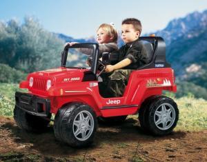 Jeep electric cu 2 locuri