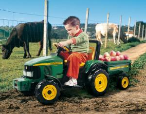Jucarie tractor electric