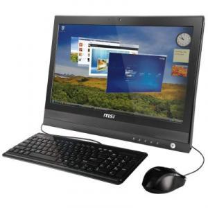 Sistem Desktop PC TouchScreen MSI Wind Top AP2000 20inch Intel P6200 2.13GHz 2GB 320GB Win 7 Home Premium