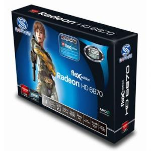 Placa Video Sapphire ATI 6870 FLEX 1GB DDR5 256bits
