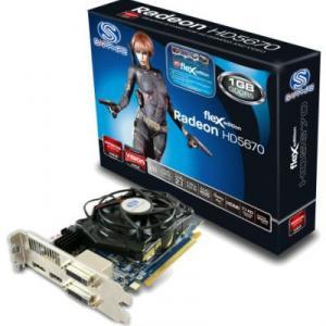 Placa Video Sapphire ATI 5670 FLEX 1GB DDR5 128bits