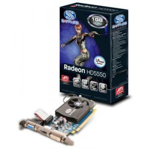 Placa Video Sapphire ATI 5550 1GB DDR3 128bits
