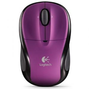 Mouse Logitech M305 Optical Wireless Nano USB Plum Purple pentru notebook