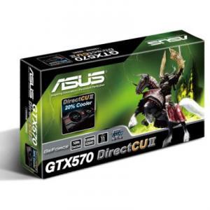 Placa Video Asus NVIDIA GTX570 1280MB GDDR5 320bits DirectCU II