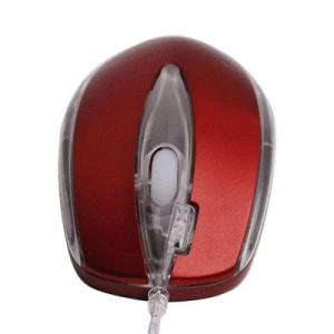 Mouse A4Tech X5-3D Run on Shine Optical PS/2 Red