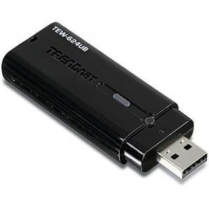 Placa de retea Wireless N TRENDnet TEW-624UB USB
