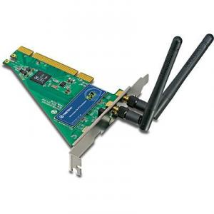 Placa de retea Wireless N TRENDnet TEW-643PI PCI