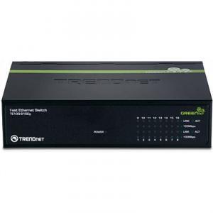 Switch 16 porturi 10/100TX TRENDnet TE100-S16Eg Unmanaged