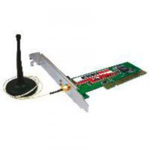 Placa de retea Wireless 705401PCI 45Mbps Qubs