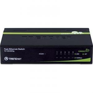 Switch 5 porturi 10/100TX TRENDnet TE100-S50G Unmanaged