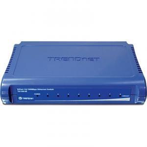 Switch 8 porturi 10/100TX TRENDnet TE100-S8 Unmanaged