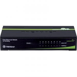 Switch 8 porturi 10/100TX TRENDnet TE100-S80G Unmanaged