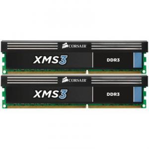 Kit Memorie Dual Channel 8GB (2x4GB) DDR3 1600 CL9 XMS3 Corsair