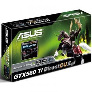 Placa Video Asus NVIDIA GTX560 Ti 1GB GDDR5 256bits DirectCU II