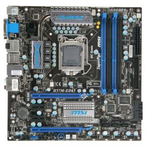 Placa de Baza MSI H57M-ED65 Socket 1156