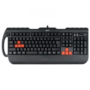 Tastatura A4Tech G700 3x Fast Gaming Keyboard PS/2 Black / Red