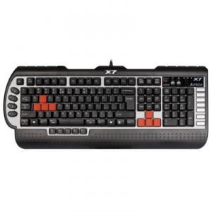 Tastatura A4Tech G800 3x Fast Gaming Keyboard PS/2 Black / Red
