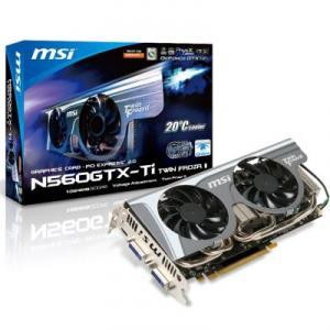 Placa Video MSI GeForce GTX560 Ti 1GB GDDR5 256bits Twin Frozr II