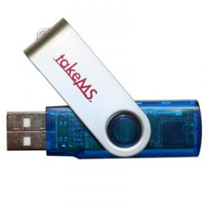 Stick Flash USB 2GB Mini Albastru TakeMS